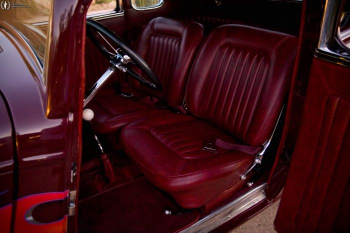 1933 ford coupe custom 1933 ford coupe custom interior desert automotive. Black Bedroom Furniture Sets. Home Design Ideas