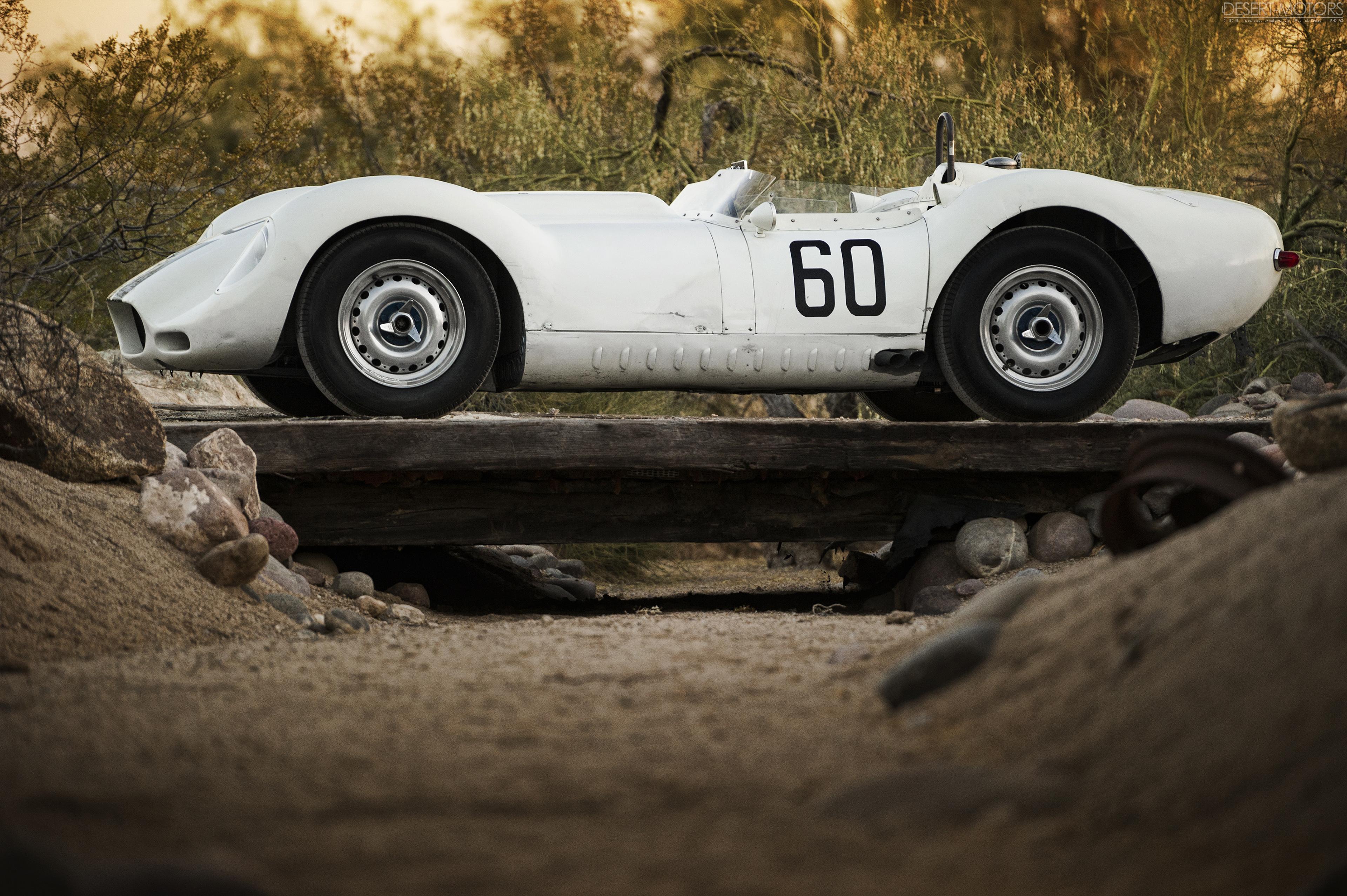 Unrestored race cars are the best race cars. \'58 Lister-Jaguar ...